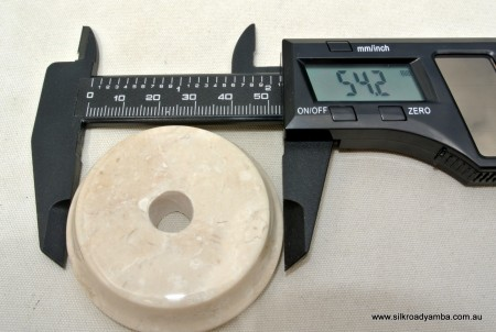 "tiny white original real marble base 53 mm 2 "" perfect for small statues"
