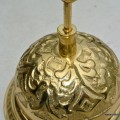 BELL shop counter solid brass old vintage style POLISHED assistance press ring