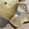 2x COCA COLA Bottle Opener Polished Brass COKE solid heavy WORKS B screws