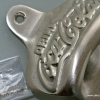 COCA COLA Bottle Opener brass COKE works Silver plated screws heavy chrome