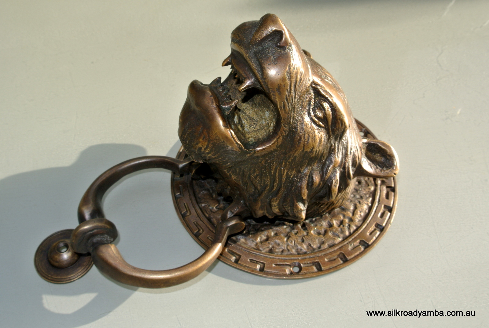 ... Heavy LION / TIGER Head Front Door Knocker 5.