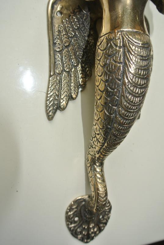 2 Stunning Praying Angel Wings Dewi 32 Cm Polished Solid